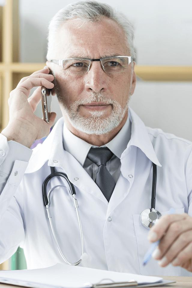 Aasistencia en línea de doctor de Home Hospital